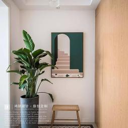 走廊玄关背景墙装修效果图