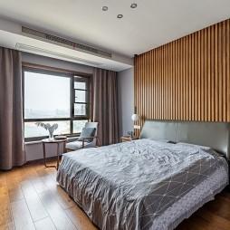 中式卧室小窗户窗帘