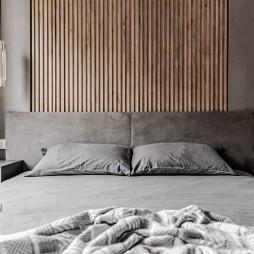 灰色卧室图片