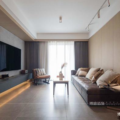 北欧暖色私宅,精致又个性|博睿设计_1595318737_4210285