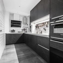 长条型厨房装修