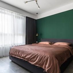 绿色卧室墙纸