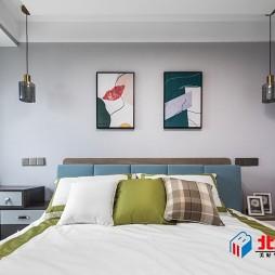 现代风卧室软包设计