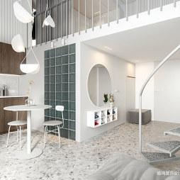 小型公寓开放式客厅设计