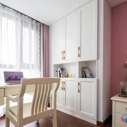 粉色书房图片大全
