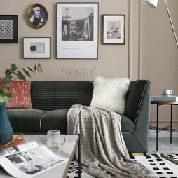 现代客厅羊毛地毯