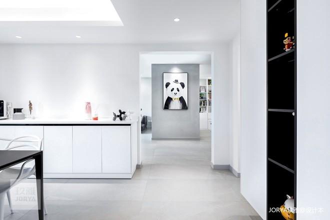 极简之家,设计师在黑白之间寻找空间诗