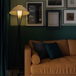 复古式客厅落地灯