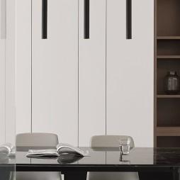 客餐厅灯无主灯设计
