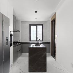 小平方开放式厨房