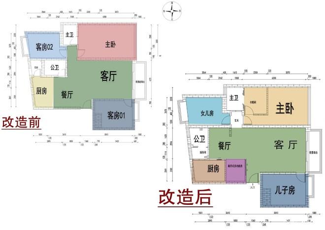 【一笔绿光】128方学区房老宅大改造