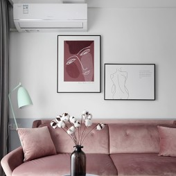 客厅挂画位置