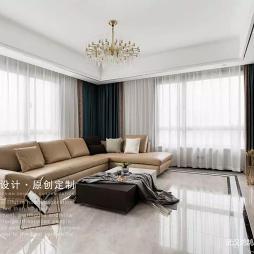 现代简约客厅装修风格