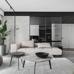 现代客厅简约装饰