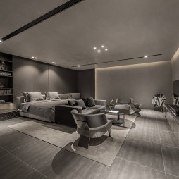 高级私人会所卧室设计