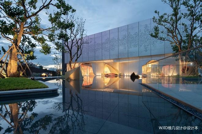 昆明龙湖·天璞售楼处外观设计