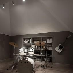 别墅音乐室图片