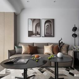 客厅小茶几地毯图片