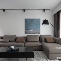 l型沙發客廳圖片