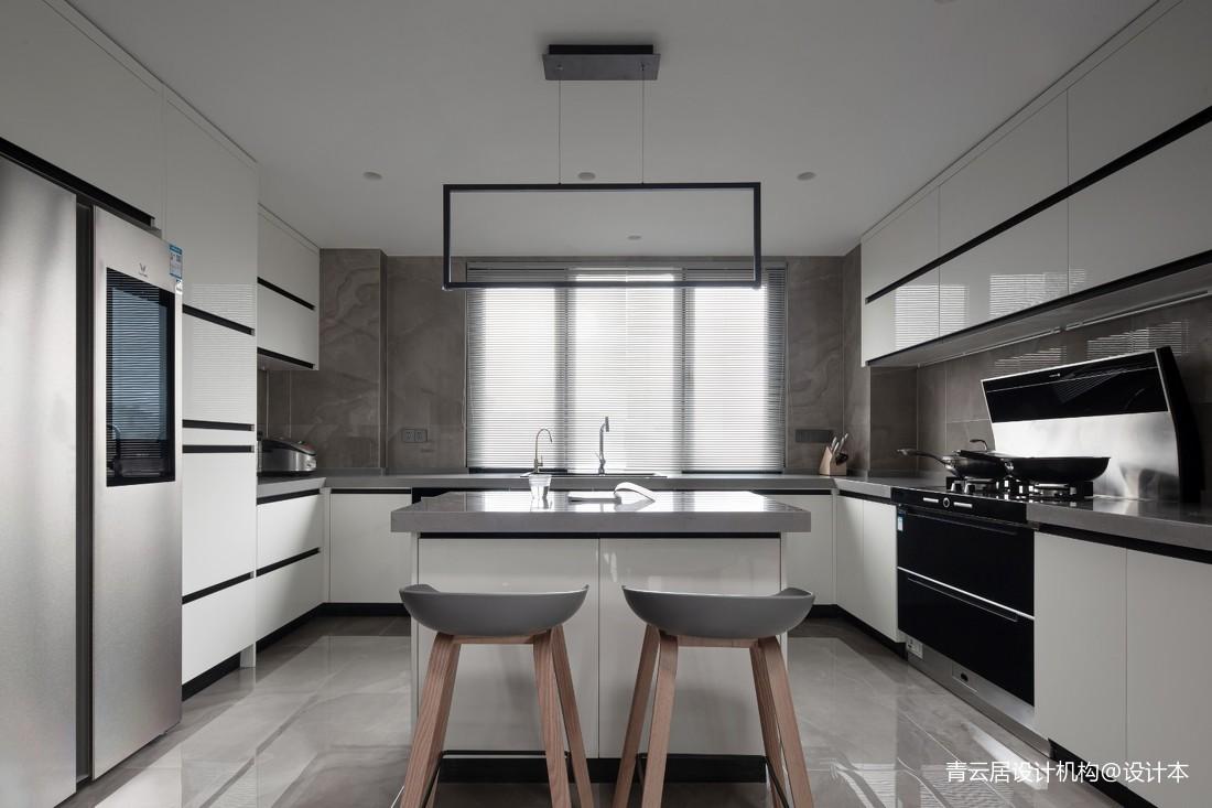 别墅大厨房装修效果图