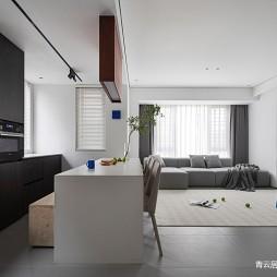 一室一厅开放式厨房装修图
