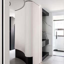 卫生间干湿分离隔断柜