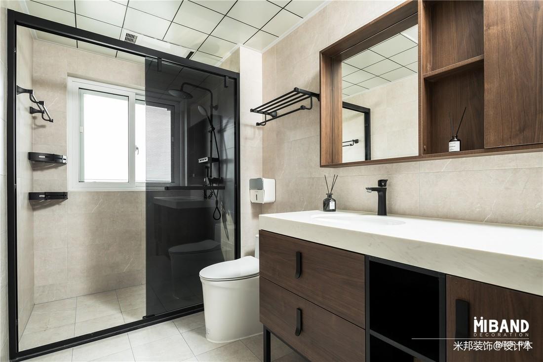 3m洗手间装修效果图_卫生间装修效果图大全欣赏_卫生间设计效果图片 - 设计本