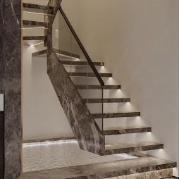 轻奢式楼梯图片