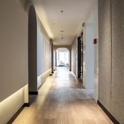 小琦君皮膚護理中心入口走廊設計