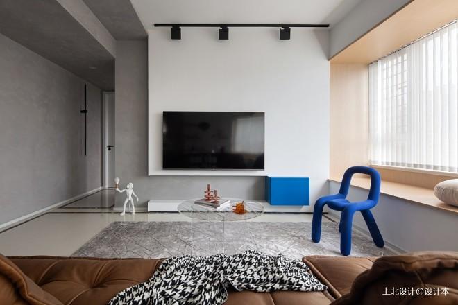 蓝白之间 精装房这样改造 简直艺术感
