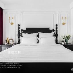 法式卧室的墙壁灯图片