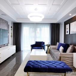 现代轻奢客厅图片