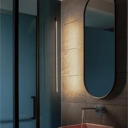 卫生间镜子位置图