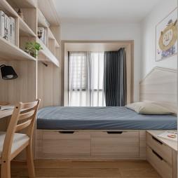 日式卧室榻榻米效果图