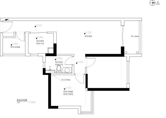 79m²的精装房改造,打造高颜值空间