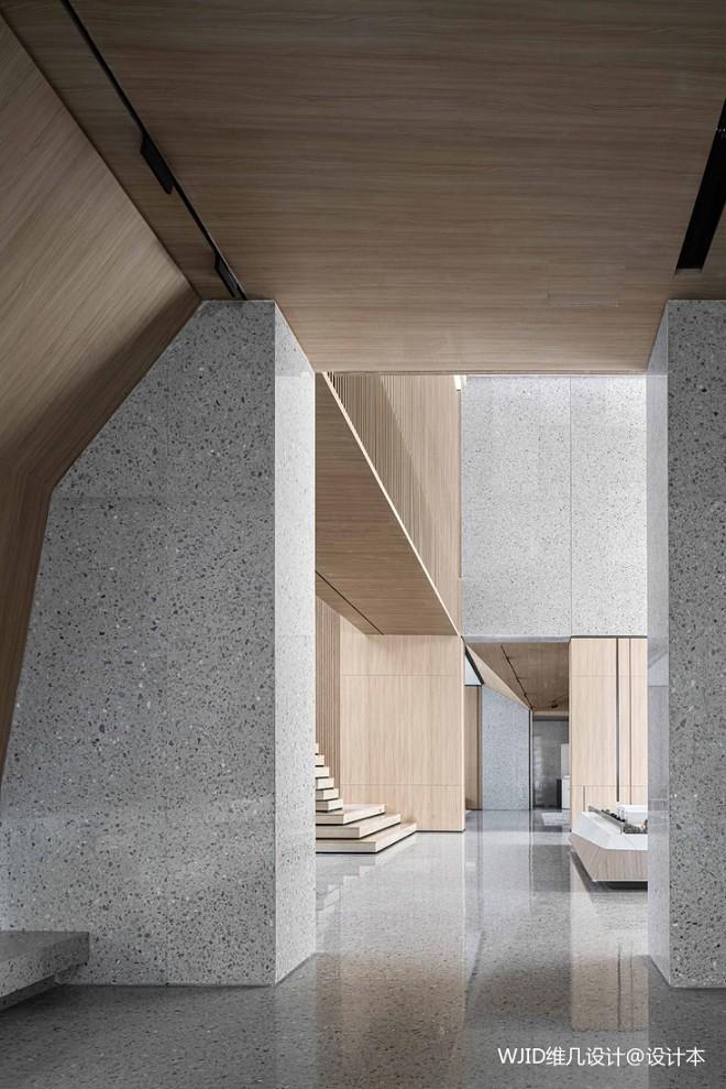 解构即艺术,用水磨石打造极简空间秩序