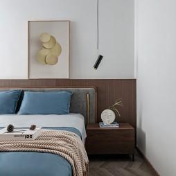 卧室床头挂画图