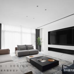 现代风格客厅灯效果图
