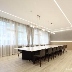 创想600文化艺术会议室设计