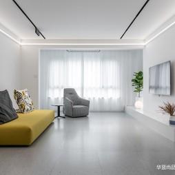 现代简约客厅吊顶效果图