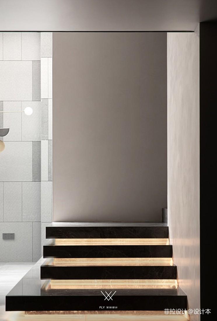 悬浮式楼梯装修效果图