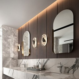 别墅轻奢卫生间设计