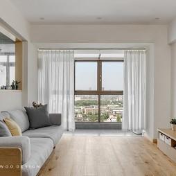 客厅木地板装修效果图欣赏