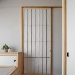 日式主卧幛子门设计