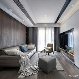 客厅实木地板效果图