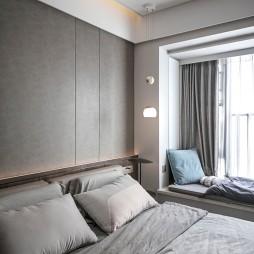 卧室背景墙硬包效果图