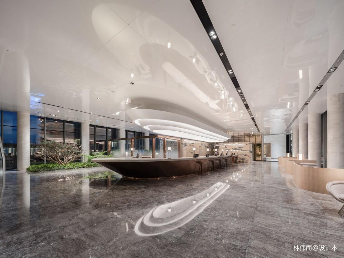 重庆来福士洲际酒店前台图片