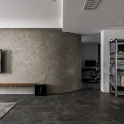 弧形电视背景墙