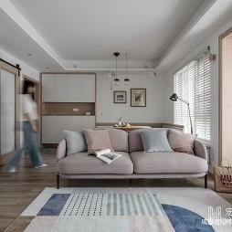 北欧极简风格客厅图片
