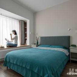 北欧极简风格卧室图片